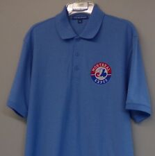Montreal Expos MLB Mens Embroidered Polo Shirts S-6XL Washington Nationals New!