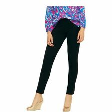 Lilly Pulitzer TRAVEL Pant Pants Stretch Ponte Black Leggings Extra XS Small S