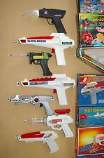 80's SCIENCE FICTION ELECTRONIC TOY GUNS, ONLY $2-$3 EACH