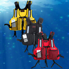 New Style Adult Buoyancy Aid Sailing Kayak Canoeing Fishing Life Jacket Vests