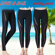 1.5mm Neoprene Diving Swimwear Scuba Surfing Beach  Board Trousers Skinny Pants