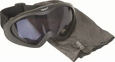 TACTICAL AIRSOFT OR PAINTBALL UV400 SHATTERPROOF LENSES GOGGLES & CARRY BAG