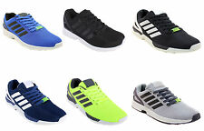 New Mens Light Weight Lace Up Mesh ZX Flux Style Running Sport Gym Trainers