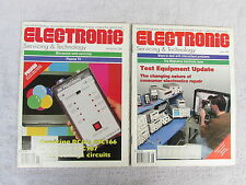 Electronic Servicing And Technology-Issues From June 1999 to April 2002 ** Box F
