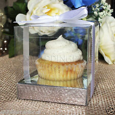 """25/50/100 Clear Cupcake Muffin Cake Boxes Party Shower Favor Gift Container 3.5"""""""