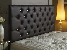 Top Quality Diamante Leather Headboard 26 inch Height Best Price On Ebay