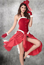 Fever Santa Baby Burlesque Costume Red Festive Stylish Christmas Costumes LC7240