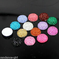 Hotsale 20/50Pcs Round Resin Stars Mixed Flatback Scrapbooking Crafts DIY 12mm