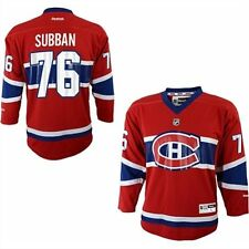 P.K. Subban # 76 Reebok Montreal Canadiens Replica Red NHL Youth Jersey