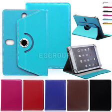 "Universal Rotating Leather Case Cover Stand For 9.7""~10.1"" iOS Android Tablet PC"