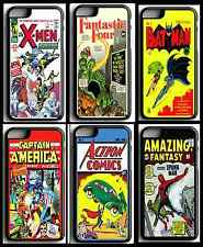 Comic Heroes First Issue Cover Rubber/ Metal Case For All  Apple I Phone