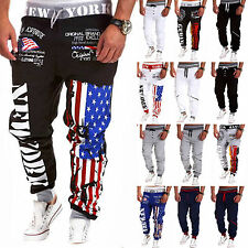 Fashion Mens Casual Street Dance GYM Sport Pants Jogging Harem Slacks Fitness