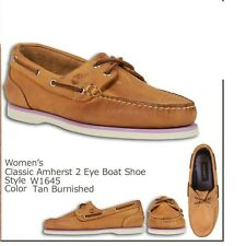 Timberland Women's Earthkeepers Classic Amherst 2Eye Boat Shoes TAN 11645