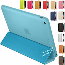 PU Leather Smart Cover Magnetic Folding Stand Case For Apple iPad Air 4 3 2 Mini