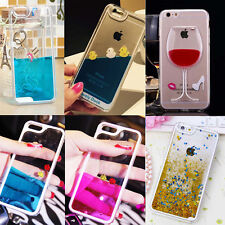 Bling Sparkle Glitter Star Dynamic Liquid Quicksand Case For iPhone 4 5s 5c 6 +