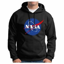 NASA Space Astronaut Geek Nerd Logo Hoodie  NEW Mens Womens Unisex Hoody