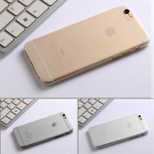 Transparent Matte Frosted Ultra Thin 0.3mm Hard Cover Shell Case For iPhone 6/6s