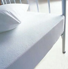LUXURY TERRY TOWELLING WATERPROOF MATTRESS PROTECTOR TOPPERS ALL SIZES