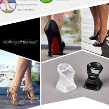 10 Pairs Clear Stiletto High Heel Protectors Covers Shoes Stoppers No Grass Sink