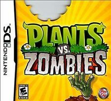 Plants vs. Zombies (Nintendo DS, 2011) Complete w/ case and manual Free Shipping