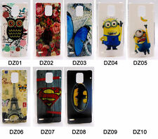 For Huawei Ascend P1 U9200 Rose Buterfly Tiger Tower Batman Hard PC Case Cover