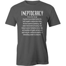 Ineptocracy T-Shirt Occupy Political Politics Government Tony Abbott Protest Tee