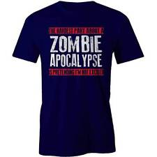 Hardest Part of Zombie Apocalypse Is Pretending I'm Not Excited T-Shirt  Walking