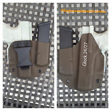 Deep Concealment Custom Kydex Holster for Glock 26/27 w/mag IWB