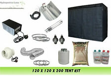 "Grow Tenda 120 & Grow Light 600W & 4 ""KIT VENTILATORE & Coco completare l'impostazione KIT"
