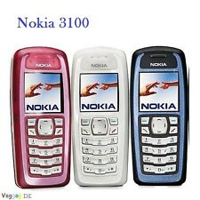 Nokia 3100 Refurbished Original Unlocked Cell Phone GSM 900/1800 Russian Hebrew