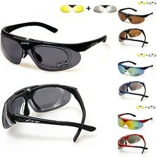XLINE 1682 Sports Sunglasses Polarized 1.1mm Mirrored Add extra 2Lens poor eyes