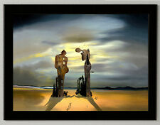 "Salvador Dali ""Reminiscence"" canvas print, framed, giclee 6.8X8.8&10X13,6"