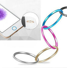 1pc Metal Home Button Ring Circle Cover Sticker Skin For Apple iphone 5S 6 6Plus