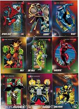 1992 MARVEL UNIVERSE SERIES III 3 IMPEL Single Cards Complete Your Set #1-60