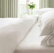 500 THREAD COUNT 100%Egyptian Cotton WHITE EXTRA DEEP FITTED BED SHEETS-All Size