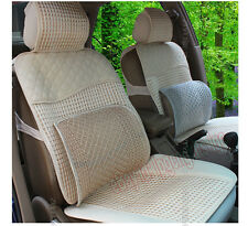 Breathable Mesh Waist Pillow Car Seat Lumbar Support Backing Cushion Block