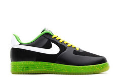 NIKE AIR FORCE 1 MENS SHOES TRAINERS LUNAR FORCE 1 BLACK SNEAKERS #629970001