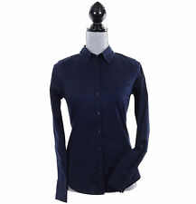 Tommy Hilfiger Women Classic Fit Long Sleeve Solid Button Down Shirt - $0 Ship