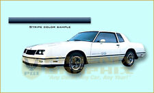 1983 1984 Chevrolet Monte Carlo SS Super Sport Stripes ONLY Kit