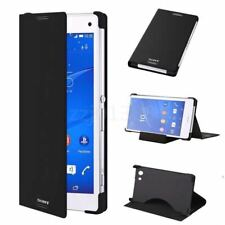 Genuine Original Ultra Thin Stand Flip Case for SONY Xperia Cell Phones - SCR10