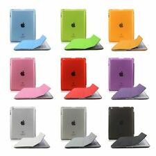 Magnetic Smart Case Cover + Ultra Slim Back Case Stand for iPad 2 3 4 Mini Air