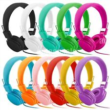 3.5mm Earphone Over-Ear Headphone Stereo for iPhone iPod PC Cellphone Universal