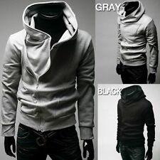 Fashion Mens Slim Fit Sexy Top Designed Hoodies Jackets Coats