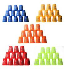 NEW 12 Sport Flying Rapid Cup Speed Stacks Stacking Cups Stack Set + Instruction