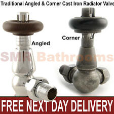 Traditional Victorian Thermostatic Cast Iron Radiator Valves