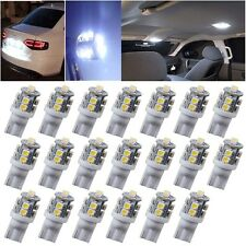 Hot HID White 360°10-SMD 168 194 2825 175 906 LED Bulbs For License Plate Lights