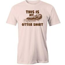 This Is My Otter Shirt T-Shirt Funny Cute Animal Puppies Joke Tee New