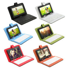 "iRulu 7"" Quad Core&Dual Cam 8GB Android 4.4 Touch Tablet PC w/ Colors Keyboard"
