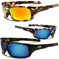 New Camouflage Sports Hunting Outdoors Sunglasses Duck Dynasty Camo Brown
