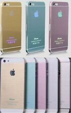 METAL EFFECT NEW VINYL DECAL WRAP KIT STICKER SKIN COVER for iPHONE 5 5S 4 4s